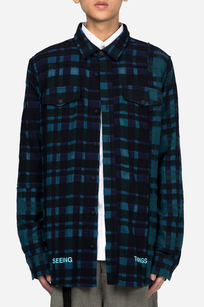 Off-White - Mixed Check Shirt All Over