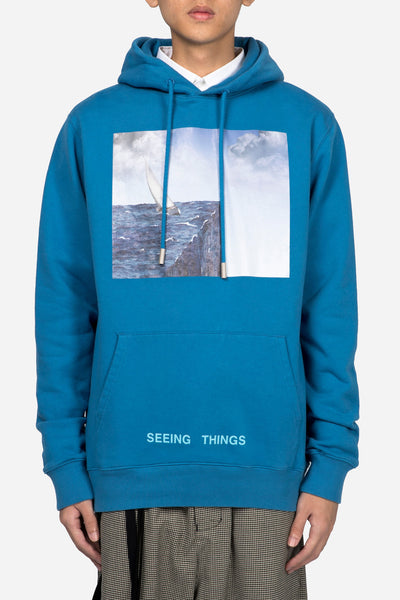 Off-White - Sea Hoodie Light Blue