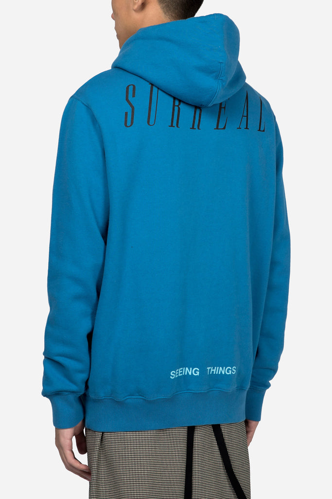 Sea Hoodie Light Blue