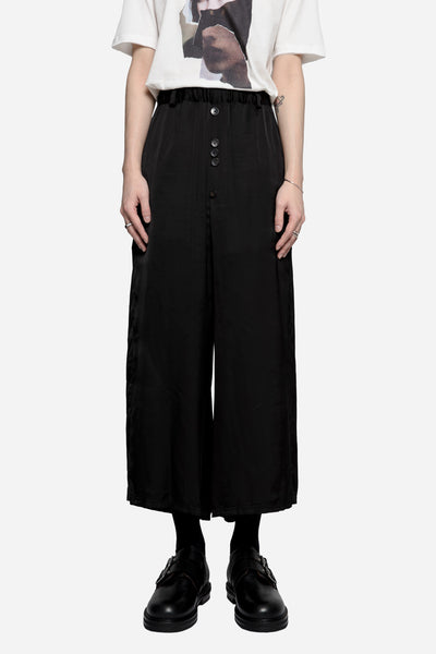 Damir Doma - Payce Baggy Cropped Trousers Coal
