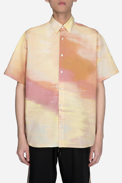 CMMN SWDN - Boxy Shirt Abstract Print