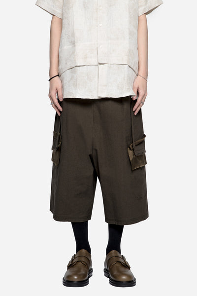Damir Doma - Pell Baggy Short Raw Umber