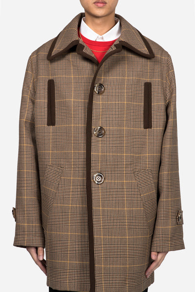 CMMN SWDN - Mac Coat Prince Of Wales Check