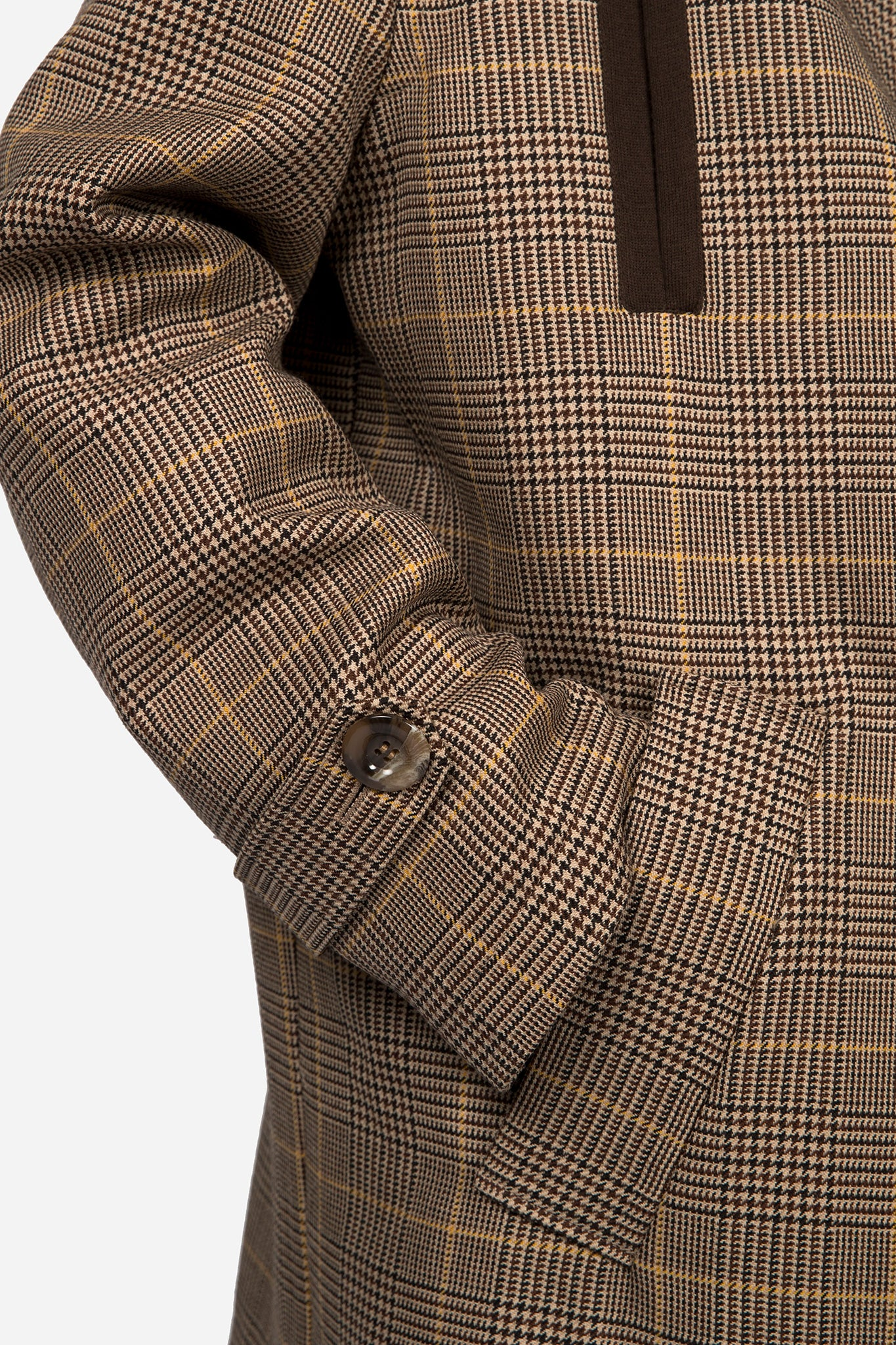 Mac Coat Prince Of Wales Check