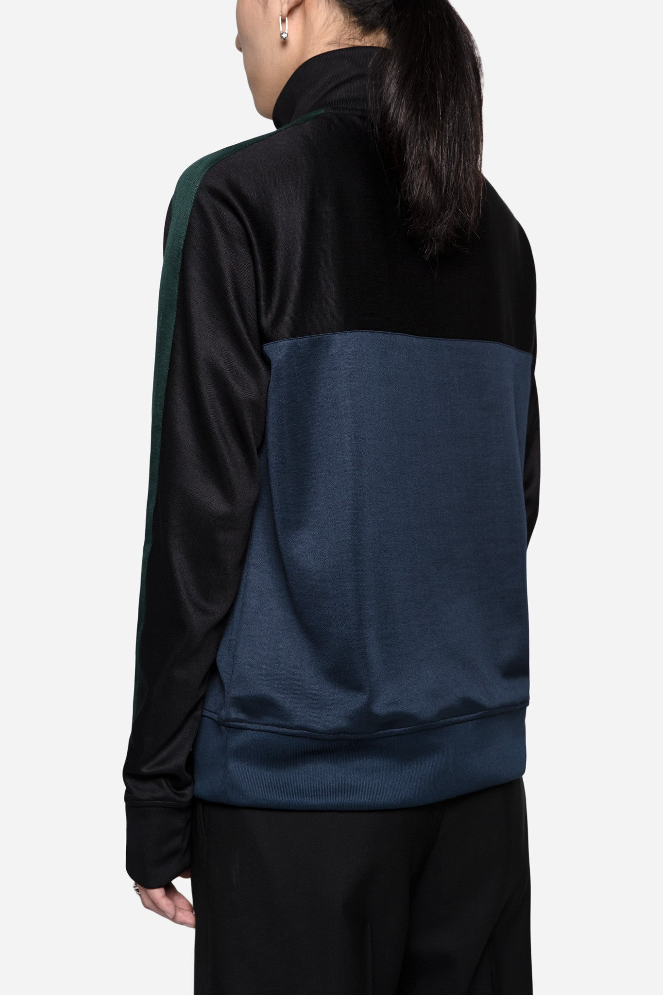 Half Zipped Sweatshirt Black/Navy