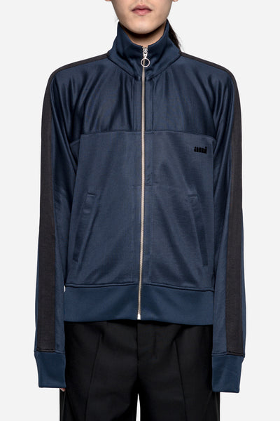 AMI - Zipped Sweatshirt Navy