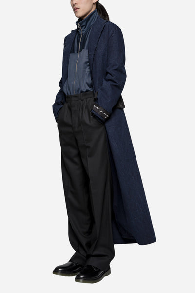 Ceri Denim Coat Indigo