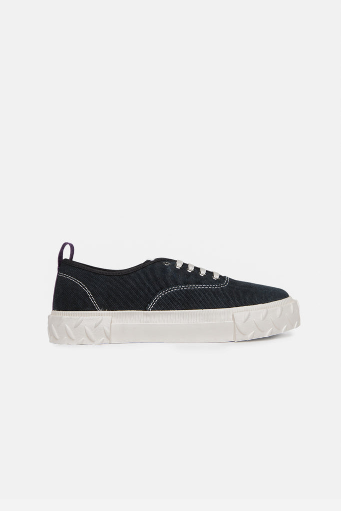 Viper Canvas Washed Black
