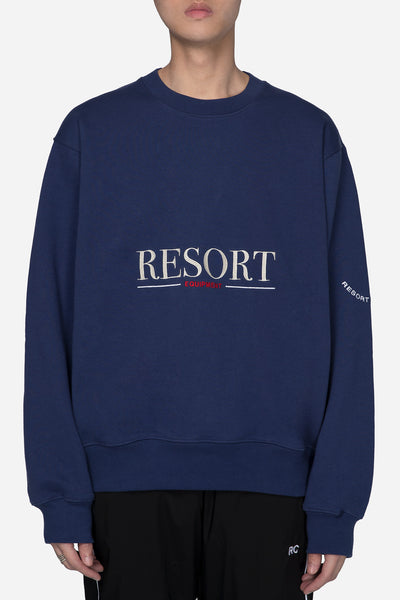 Resort Corps - Equipment Crew Neck Blue