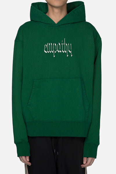 Resort Corps - Empathy Embroidered Hoodie Green