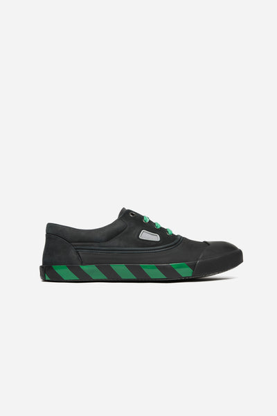 Lanvin - Oxford Sneaker with Green Print Black