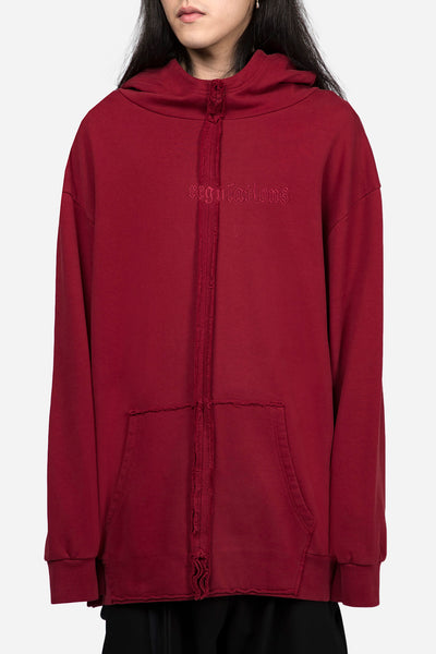 Yang Li - Regulation Hoodie Dark Red