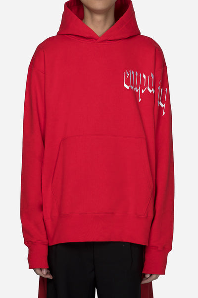 Resort Corps - Empathy Embroidered Hoodie Red