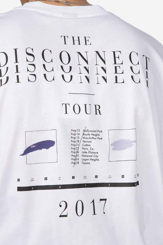 Disconnect Tour T-shirt White