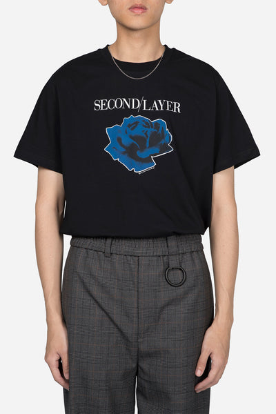 Second / Layer - Disconnect Tour T-shirt Black