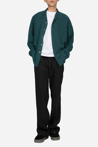Camp Collar Shirt Jacket Viridian