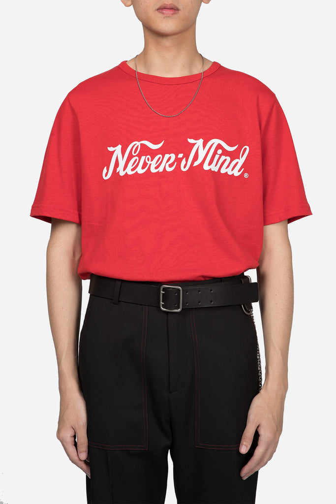 Unity Nevermind T-shirt Red