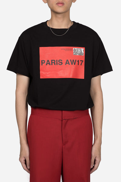 424 - Paris T-shirt Black