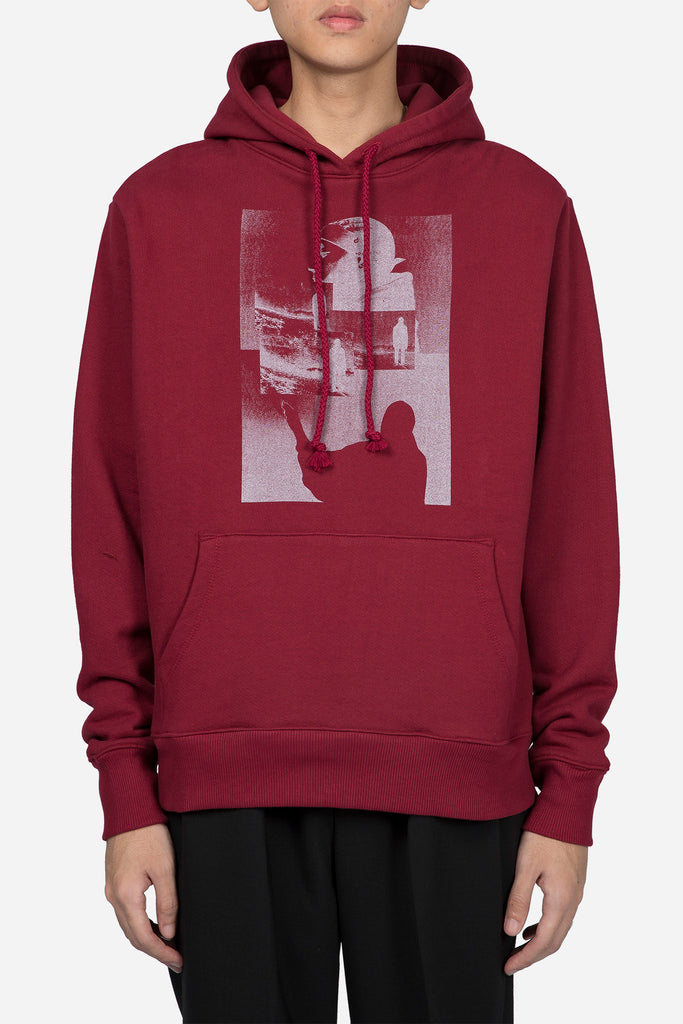 MVP Hooded Sweatshirt Burgundy