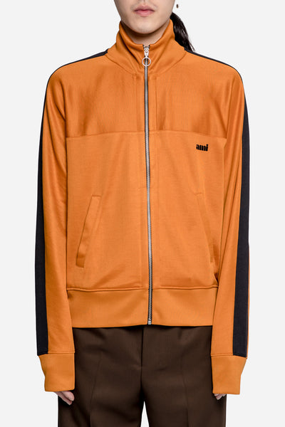 AMI - Zipped Sweatshirt Orange