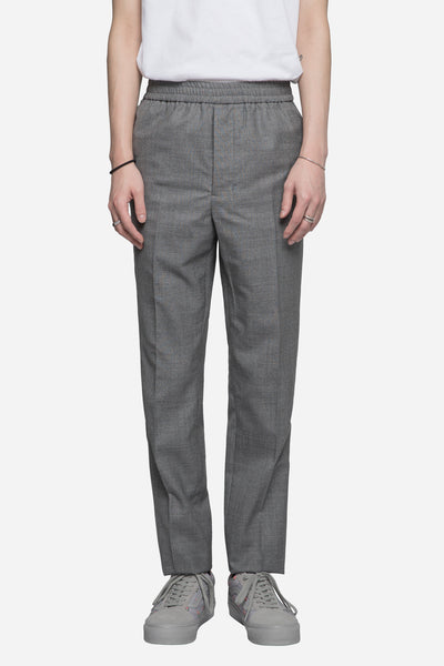AMI - Elastic Tropical Wool Trousers Grey