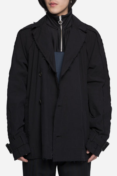 robert geller - Undone Jacket Black
