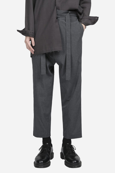 YellNow - Mich Formal Trouser Labor Grey