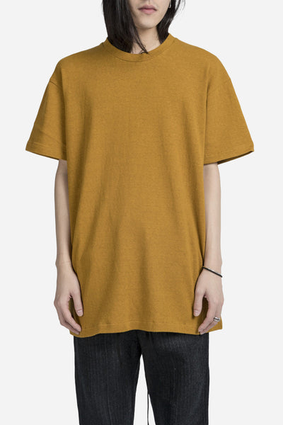 Song for the mute - Oversized Tee Mustard Yellow