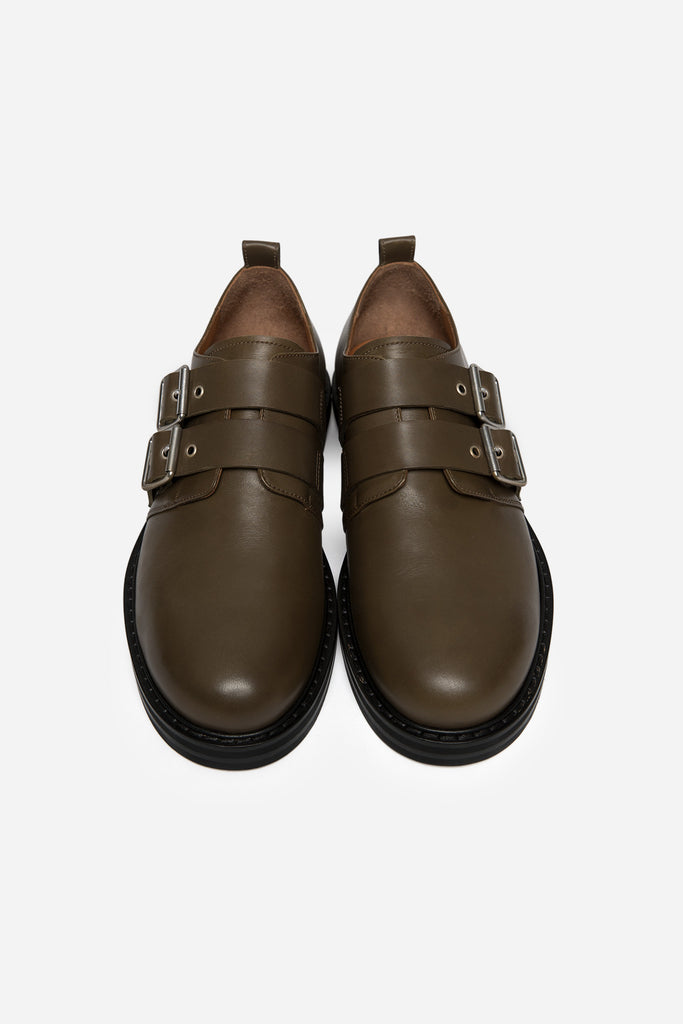 Fritz Buckle Derby Raw Umber