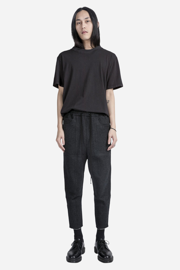 Panelled Track Pant Charcoal