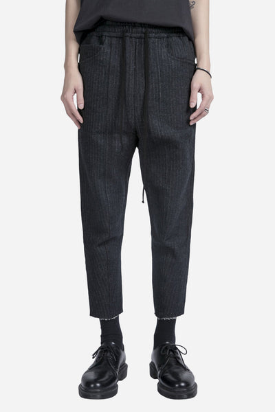Song for the mute - Panelled Track Pant Charcoal