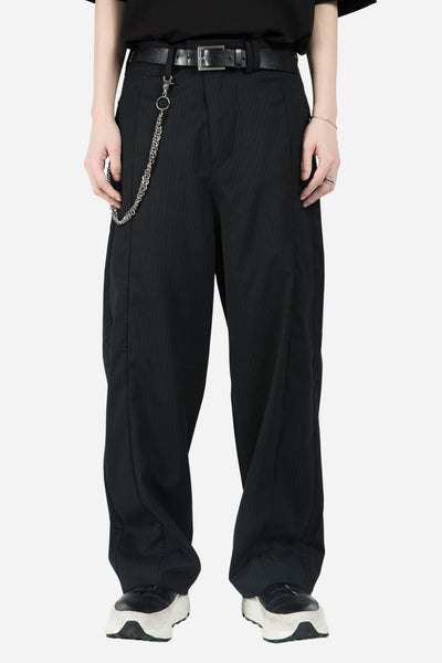 Chapter - 96 Wide Pant Black Stripe