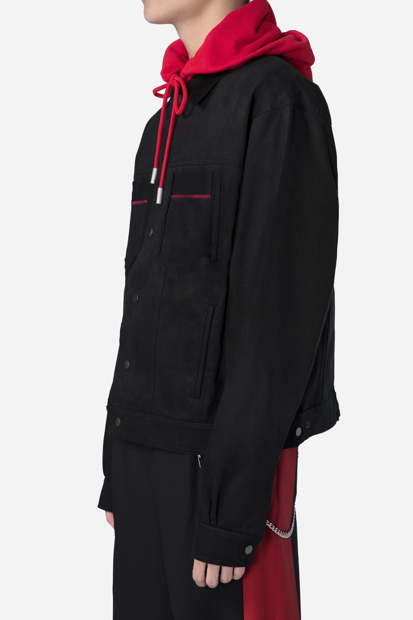 Type 1 Split Jacket Black