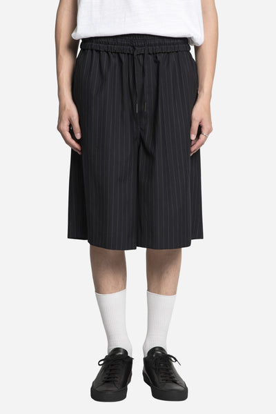 Off-White - Pinstripes Short Navy