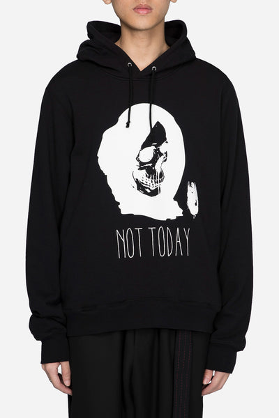 Undercover - Not Today Skull Black Hoody