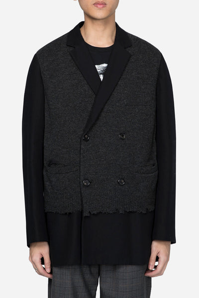 Undercover - Knit Double Breaseted Suit Black