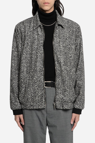 Second / Layer - Marled Grey Blouson