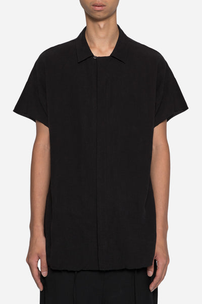 Chapter - Tybal Zip Shirt Black