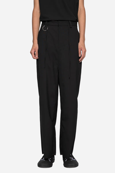 Chapter - Regor Cropped Trouser Black