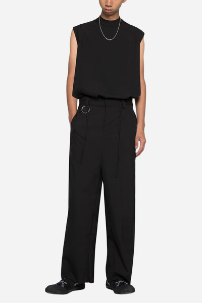Regor Cropped Trouser Black