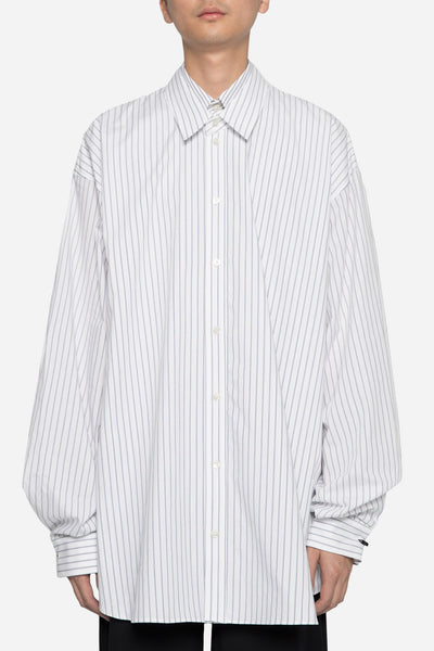 Dressundressed - Collaboration LS Layered Shirt Stripe