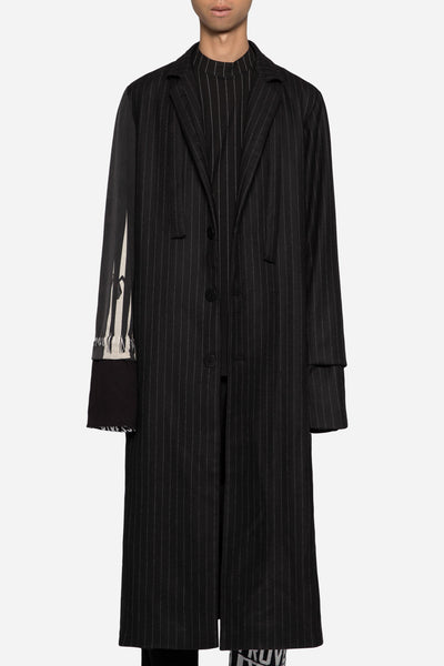 Blackfist - Blackfist x Doc Long Coat Dry Onyx Muted Stripes