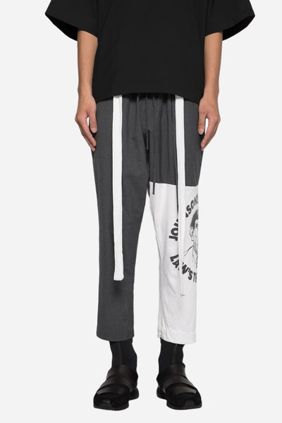 Blackfist - Blackfist x Mich Cropped Trouser Gris