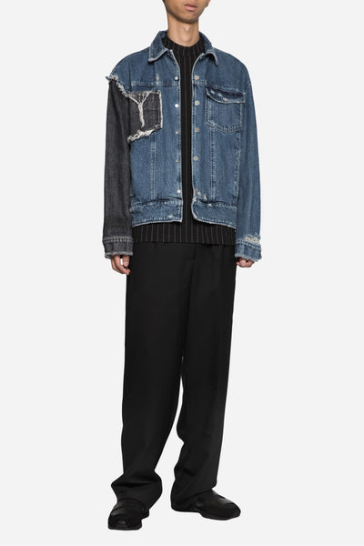 Blackfist x Lou Cropped Jacket Dry Velvet Wash