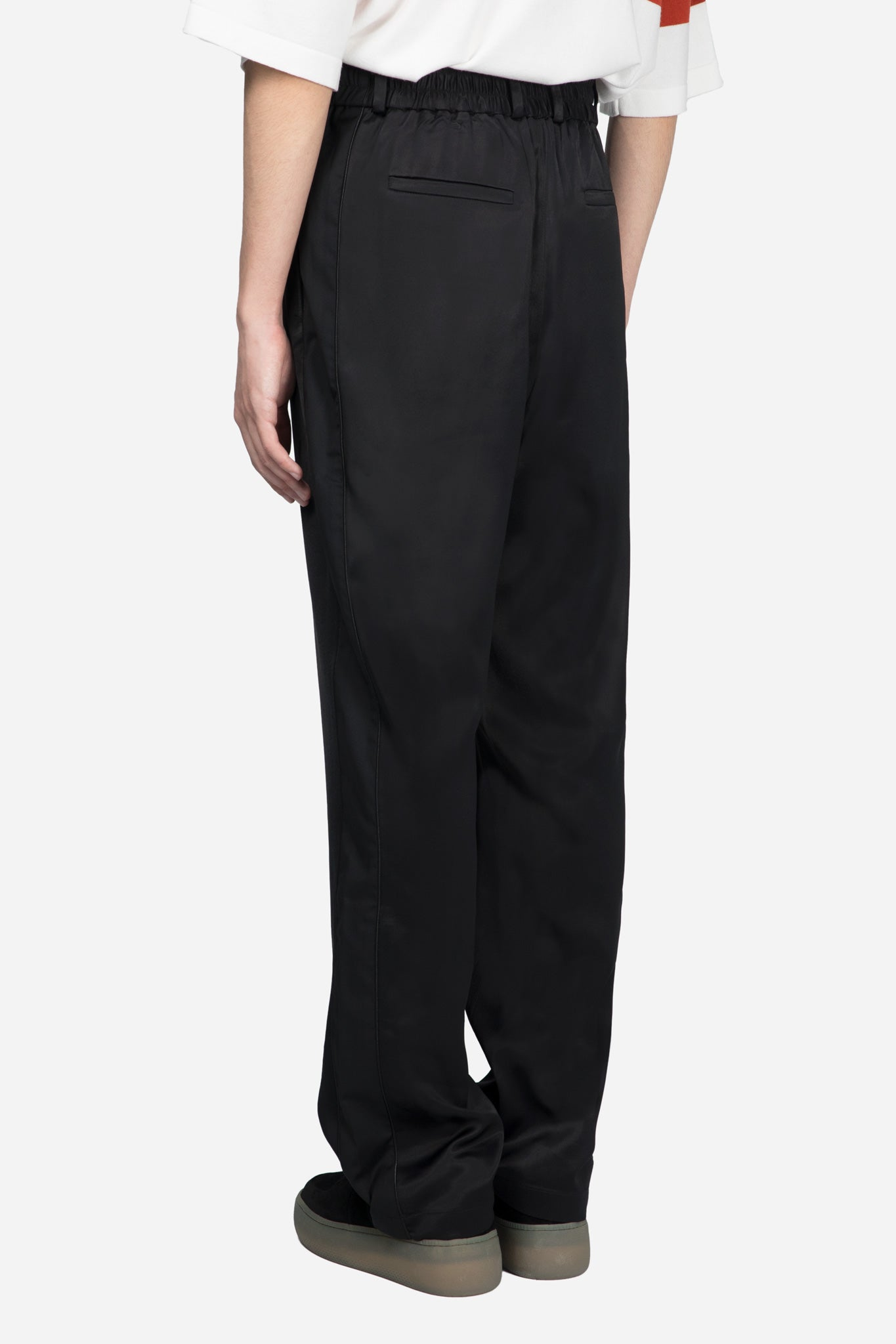 Mich Track Trouser Polished Dry Onyx