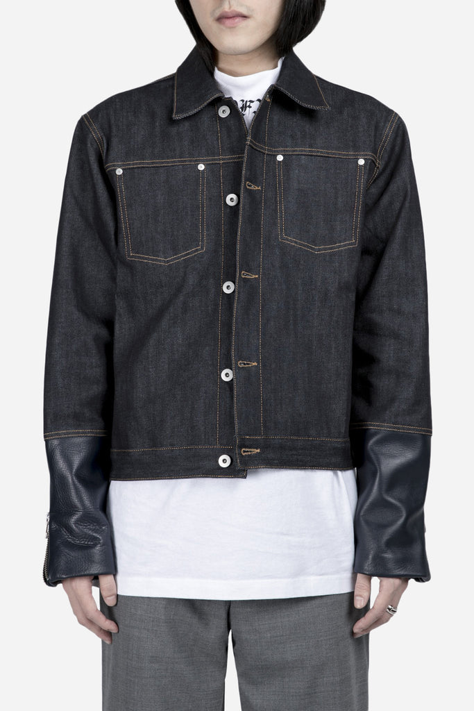Renton Hybrid Denim Jacket Indigo