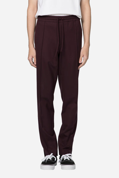Second / Layer - Open Outsid Vent Track Pant Bordeaux