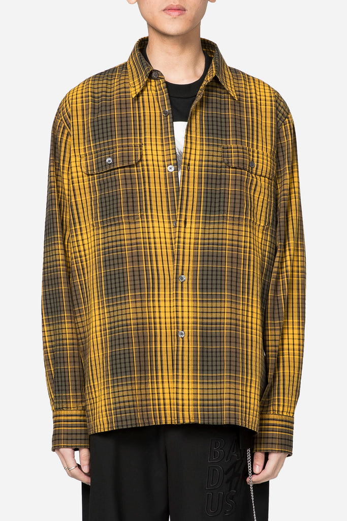 Country Shirt Gold Check