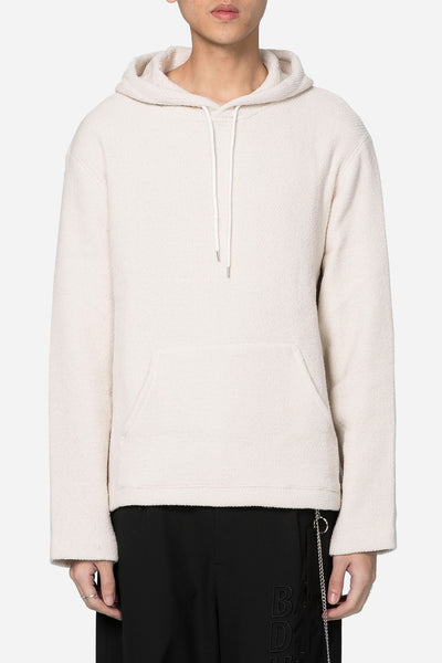Our Legacy - Flat Hoodie White Chunky Waffle