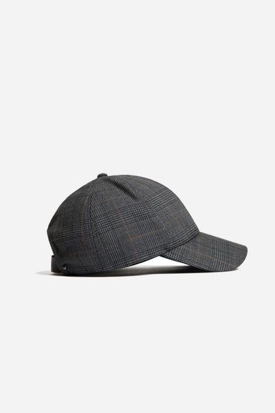 Banks Drain Us - Interchangeable Sports Cap Grey Gold Check